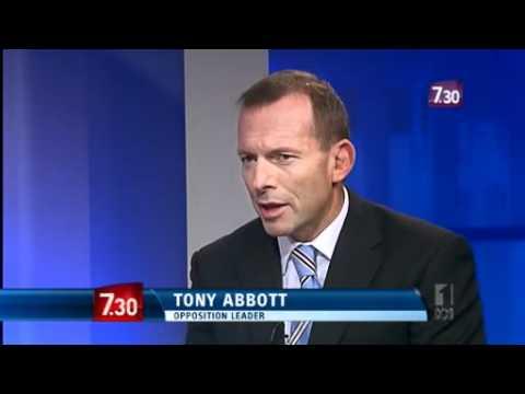 Abbott speaks to Chris Uhlmann