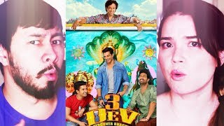 3 DEV | Karan Singh Grover | Kay Kay Menon | Kunaal Roy Kapur | Trailer Reaction!