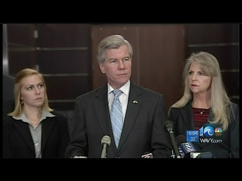 Andy Fox reports on the Bob McDonnell scandal
