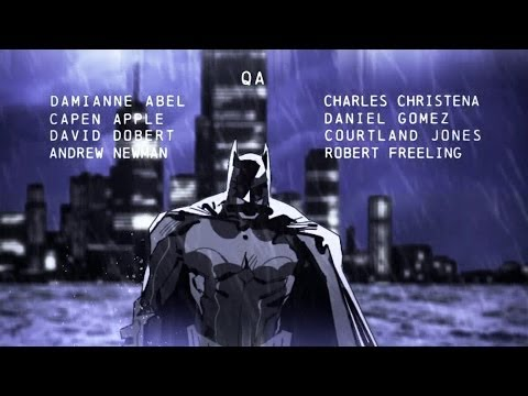 Batman: Arkham Origins Blackgate - End Credits [Deluxe Edition]