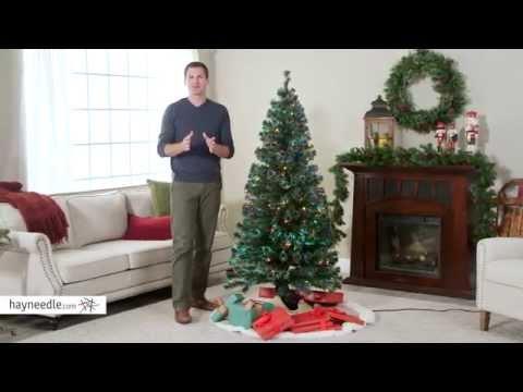 6 ft. Fiber Optic Evergreen Pre-lit LED Christmas Tree - Product Review Video