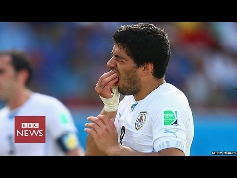 Suarez banned for 4 months over Chiellini 'bite' incident in Brazil - BBC News