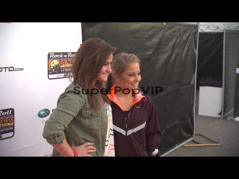 Skylar Laine, Shawn Johnson at Celebrities participate in...