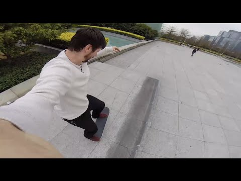 CHRIS RAY: GOPRO SKATE MONTAGE