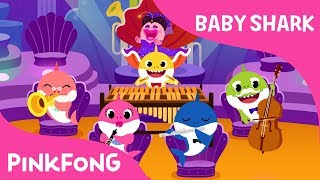 Orchestra Sharks | Baby Shark | Pinkfong Songs for Children