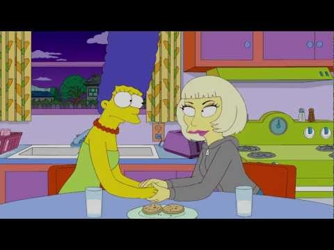 Lady Gaga on The Simpsons | Behind The Scenes | Interscope