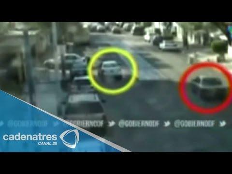 DF: caen asaltantes a cuentahabientes que operaban en taxi robado