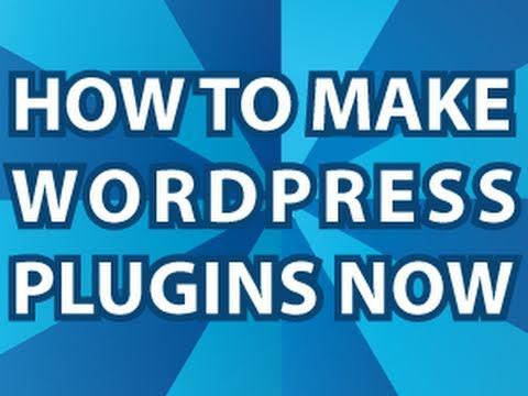 Wordpress Plugin Howto