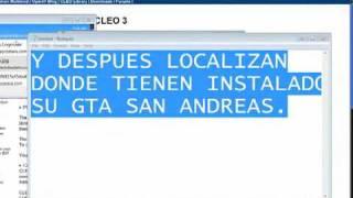 Como instalar el Mods Cleo en Gta San Andreas PC