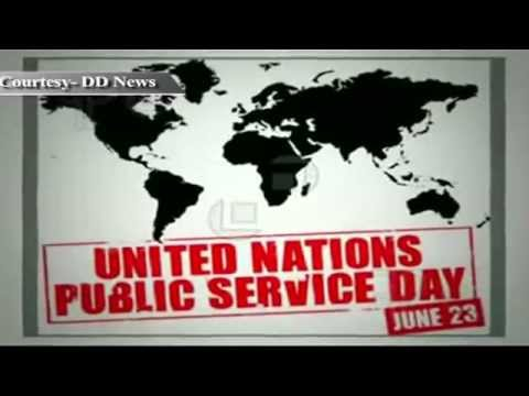 United Nations Public Service Day being observed today