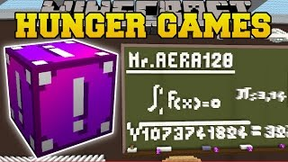 Minecraft: SCHOOL CLASSROOM HUNGER GAMES - Lucky Block Mod - Modded Mini-Game