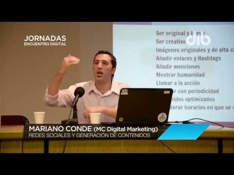"""Redes sociales (MC Digital Marketing) - Jornadas """"Encuentro Digital"""" - Agencia DIB 2015"""