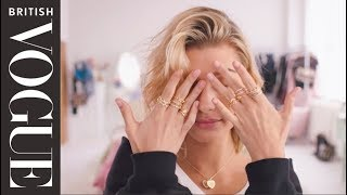 The Full Look With Hailey Baldwin British Vogue Pandora