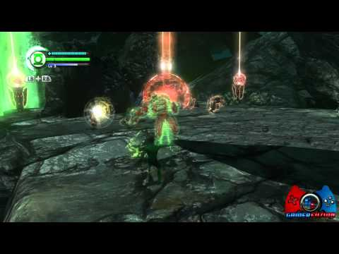 Green Lantern Rise of the Manhunters Walkthrough Part 4 XBOX 360, PS3, 3DS, WII, DS