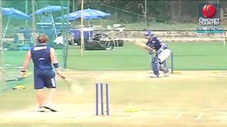 Sachin Tendulkar practices hard to regain his form for CLT20 2013