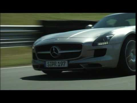 Mercedes SLS AMG Trailer