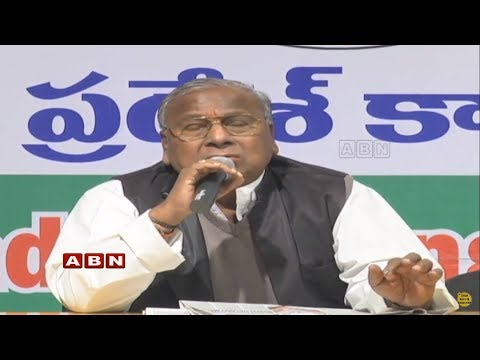 V. Hanumantha Rao Alleged PM Modi and KCR |  Press Meet Live from Gandhi Bhavan | ABN Telugu