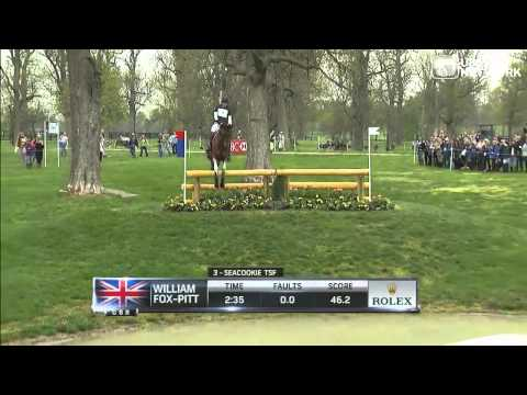 William Fox-Pitt & Seacookie TSF - Rolex 2013 Cross Country