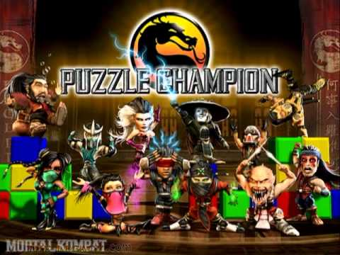 Mortal Kombat Deception - Playstation 2 & Xbox & GameCube - Puzzle Victory (NTSC)