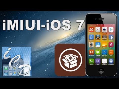 iMIUI - iOS 7 Theme frs iPhone 4/4s und 5