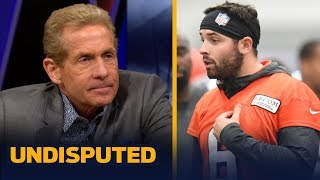 Baker Mayfield is 'wrong' for not owning his Daniel Jones comments — Skip Bayless | NFL | UNDISPUTED