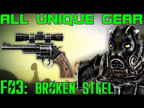 Fallout 3: Broken Steel - Unique Armor & Weapons Guide