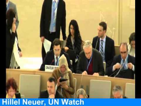 UN blasts Israel, Hillel Neuer calls out hypocrisy of Russia, Sudan, Iran, Saudi Arabia, Turkey