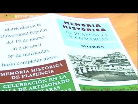 La Universidad Popular presenta la XI edicin del Curso de Memoria Histrica (Noticia, 16-03-2013)