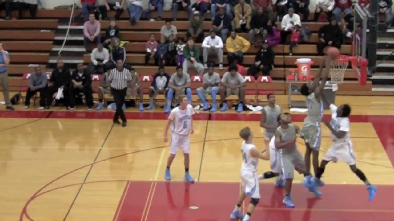 Muskegon Basketball Showcase dunk highlights 2014 - YouTube