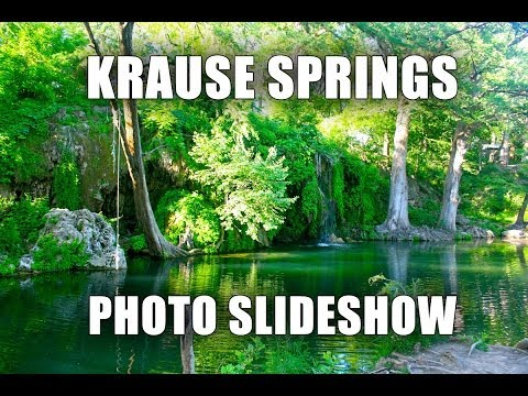 Krause Springs - Photo Slideshow