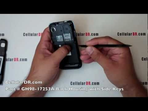 T-Mobile Vibrant Repair Video Samsung Android Galaxy S SGH-T959 Disassembly