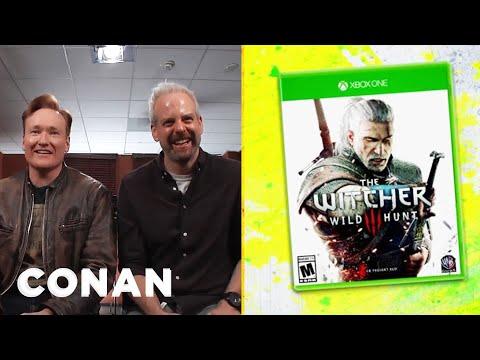 "Clueless Gamer: Conan Reviews ""The Witcher 3: Wild Hunt""  - CONAN on TBS"