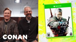 "Clueless Gamer: Conan Reviews ""The Witcher 3: Wild Hunt""  - CONAN on TBS"