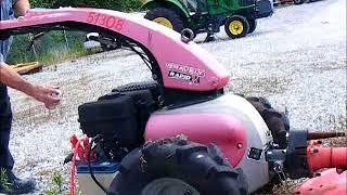 GovDeals: 2009 Gravely Rapid M Lawnmower.  Runs but dies.  V