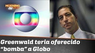 Entenda a treta entre a TV Globo e o jornalista Glenn Greenwald