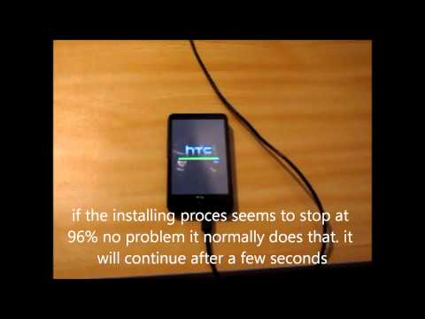 how to install windows phone on your HTC HD2