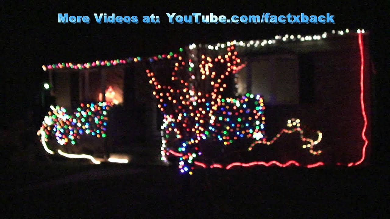 Operation christmas house 2011 synchronized to music youtube for Christmas house music