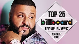 Top 25 • Billboard Rap Songs • March 17, 2018 | Download-Charts