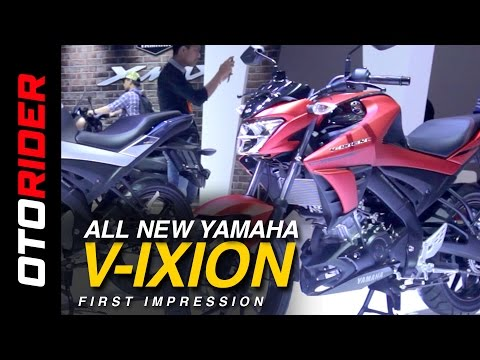 Yamaha All New V-ixion 2017 First Impression Review - Indonesia (English Subtitled) | OtoRider
