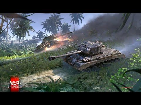 War Thunder CZ - Testovací jízda s Tankem T25
