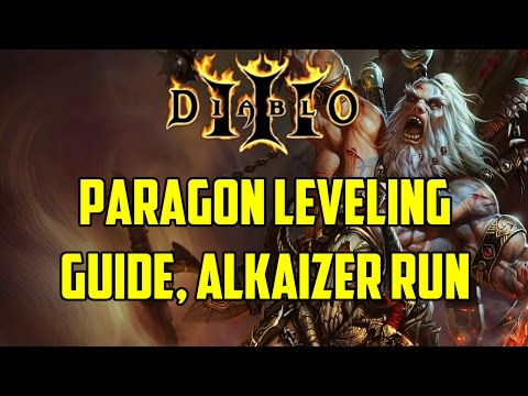 D3 - Paragon Leveling Guide, Alkaizer