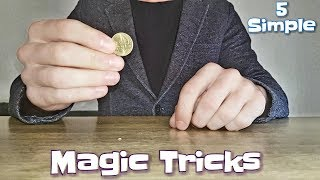 5 Simple Magic Tricks Which You CAN Do!