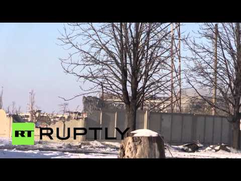 Ukraine: Get close to the heat of battle at Donetsk Airport