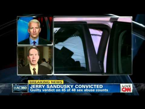 Anderson Cooper Interviews Joe Amendola - Jerry Sandusky's Lawyer