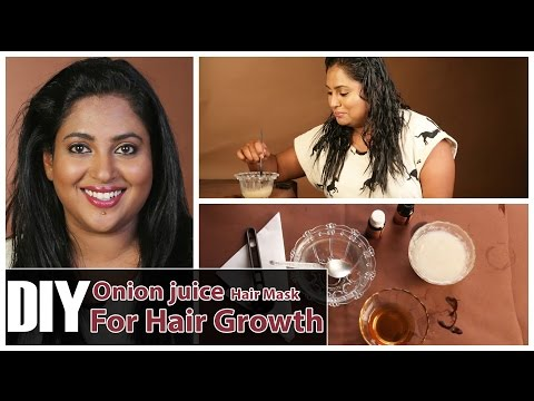 DIY ONION JUICE For Hair Loss & Hair Regrowth