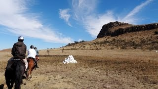 Trail ride to Isandlwana