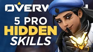 Top 5 Skills Pro Players Abuse that You Don't! - Overwatch