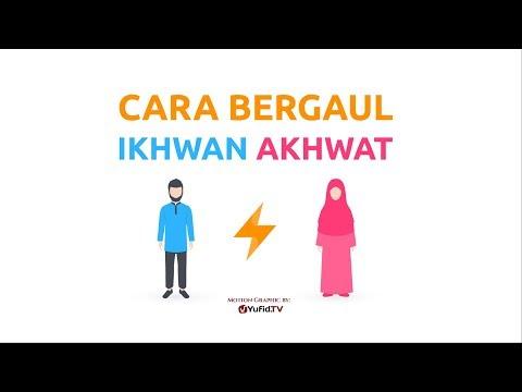 Motion Graphic: Cara Bergaul Ikhwan dan Akhwat - Ustadz Muhammad Nuzul Dzikri