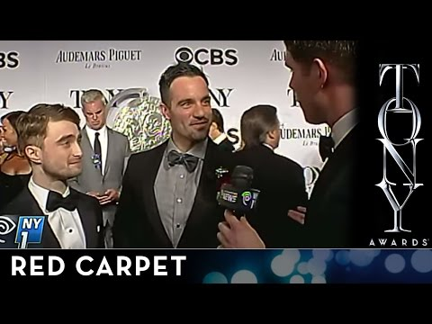2014 Tony Awards: Red Carpet - Daniel Radcliffe and Ramin Karimloo