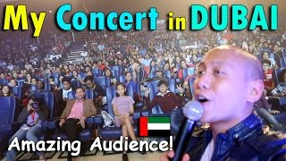 MY CONCERT IN DUBAI   April 29th, 2017   Vlog #98